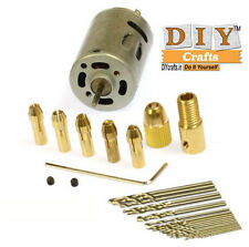0.5-2.5mm.Small Electric.Micro Twist.Drill Chuck Set,12V Motor Drill Bit Collet.