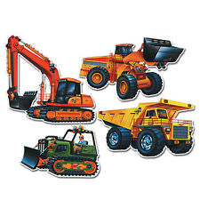 Beistle Company 22169 Construction Vehicle Cutouts 16 4 Count