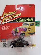 JOHNNY LIGHTNING 2000 HOT RODS 1937 COUPE - WHITE LIGHTNING BLACK