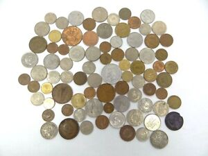 Mixed Lot Foreign 1892 Portugal 1942 Eire Jerusalem Israel Mexico Colombia Coins