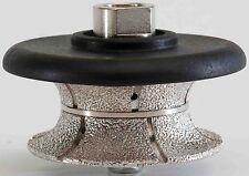 2 1/2 Inch V-Shape Diamond Hand Profiler/Router Bits for Granite 60mm Bull nose