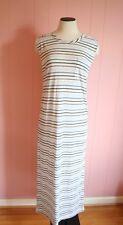 Le Mont St. Michel Striped Tee Dress Madewell M Medium Maxi Long Dress Striped