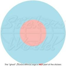 RAF Royal AirForce Type B LowVis Aircraft Roundel British 100mm Stickers Decals