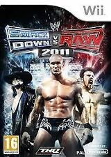 *WWE SmackDown vs Raw 2011 Wii* PAL Complete ~Fast & Free Postage~ ELE7