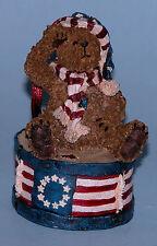 "Boyds Bears ornament ""Yankee Doodlebear "" #257048 bear 2004 NIB Patriotic"