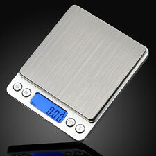 500g x 0.01g Digital Gram Scale Jewelry Weight Electronic Balance Scale JD