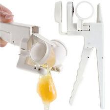 1pc EZ Egg Cracker Handheld Yolk & White Separator Kitchen Gadget Kints Tool