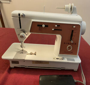 Vintage Singer Touch & Sew Model 626 Heavy Duty Sewing Machine ~READ DESCRIPTION