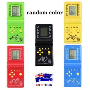 Classic Nostalgic Tetris Brick Handheld LCD Video Games Toy Machine Arcade AL