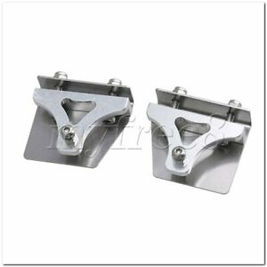 38mm Length Metal Model Boat Trim Tabs for RC Electric Racing Boat Set of 2
