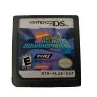 Nintendo DS Spongebob Atlantis Squarepantis Game