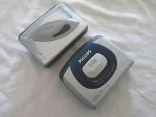 2X Walkman SONY WM-EX190 Mega Bass + PHILIPS AQ6485 Stereo Cassette Player