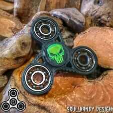 SKD SPINZ 3D NOTCHIE DC Quad Fidget Spinner - DC SKD Caps