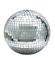 DISCO 12 IN REFLECTION MIRROR PARTY GLOBE BALL light large celing hanging new