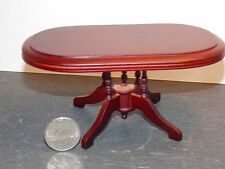 Dollhouse Miniature Dining Room Table Mahogany 1:12 inc scale G84 Dollys Gallery