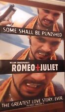 "40x60"" HUGE MOVIE SUBWAY POSTER~Romeo and Juliet 1996 ""Some Shall Be Punished""~"