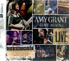 Amy Grant, Time Again...Live, CD & Bonus DVD, New