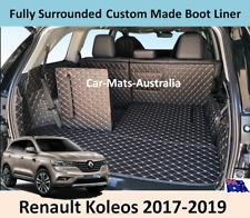 Renault Koleos 2017-2019 Custom Made Trunk Boot Mats Liner Cargo Mat Cover