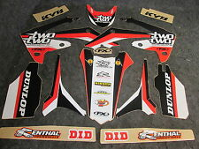 Honda CRF250 2010-13 CRF450 2009-12 Two Two Motorsport graphics+ plastics GR1085