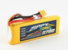 Zippy Compact 2700mAh 3S 11.1V 60C 70C Lipo Battery Pack w/XT60 Plug FPV Drones