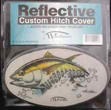WES REFLECTIVE CUSTOM HITCH COVER Yellowfin tuna 4054