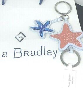 Vera Bradley Starfish Bag Charm Anchors Aweigh New