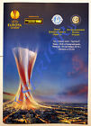 Program Dnipro Ukraine Inter Milano Italy 2014/2015 Europa League