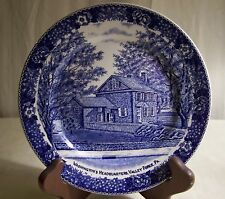 Vintage Staffordshire Bread & Butter Plate Historic Valley Forge. PA England PO