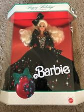 NRFB 1991 Mattel Barbie Happy Holidays Special Edition