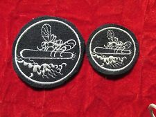 WW2 PT Boat patch set US Navy Mosquito Boat wool original wrapper PT109