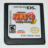 NARUTO: NINJA COUNCIL 3 NINTENDO DS GAME 3DS 2DS LITE DSI XL