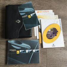 Renault Master Owners Handbook//Manual and Pack 15-19