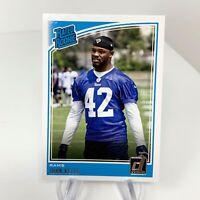 NFL John Kelly Rated Rookie Rams Donruss Panini Football Rookie Card RC