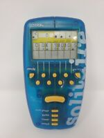 *TESTED* Vintage 1998 Radica Solitaire Electronic Handheld Game - Blue