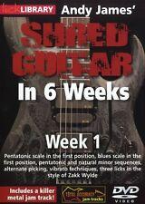 JAMES SHRED GUITAR 6 WEEKS WK 1 DVD; Wylde, Zakk, Default setting - RDR0334