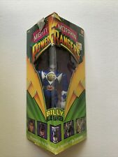 1993 Bandai Mighty Morphin Power Rangers Blue Ranger Billy With Box