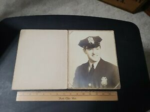 Vintage 1950s? NYPD New York Police Correctional  Officer Portrait Photograph