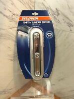 SYLVANIA LED Self Stick ON Touch Night Light Battery Dot It Linear Swivel
