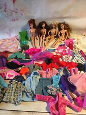 Barbie Dolls & Clothes Bundle, Barbie Dolls x3, Clothes