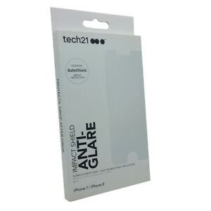 Tech21 Impact Shield Anti-Glare BulletShield Screen Protector For iPhone 7 / 8