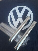 VW bug beetle ghia TAIL PIPE end tip exhaust PIPES tips 26.5cm PAIR 10.4 in