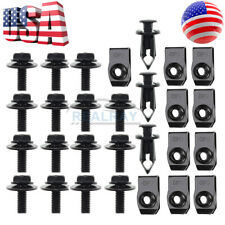 Splash Shield Guard Bumper Hardware Kit Bolt Screw Clip Nut for Nissan 350Z 370Z