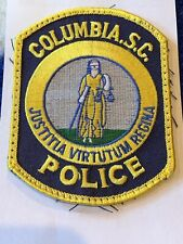 Columbia South Carolina Police Patch
