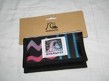 BNWT QUIKSILVER  Trifold Coin Wallet  Black