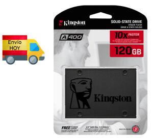 DISCO DURO KINGSTON SSD 120GB 120 GB SATA3 2,5 '' ENVIO HOY ENVIO HOY
