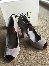 NEXT New Grey Suede Shoes Size 5