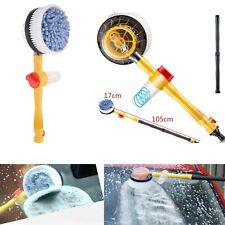 Lavage Voiture Interrupteur Débit d'eau mousse Brosse Portable Brosse Rotative Auto Clean Tools