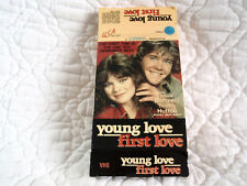 YOUNG LOVE, FIRST LOVE VHS BIG BOX VALERIE BERTINELLI TIMOTHY HUTTON TEENAGERS