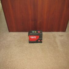 Hilti Pm 10 Laser Level Red Dot transfer layout tool