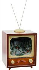 "Raz Imports 15"" Lighted Animated Musical TV plays Christmas Carols 3616308"